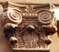 Detail on a Capital