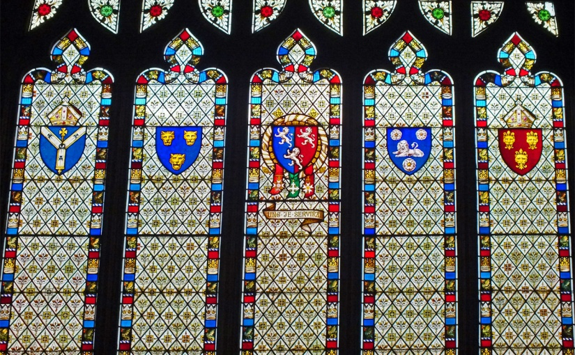 Ludlow, St Laurence Church: Windows