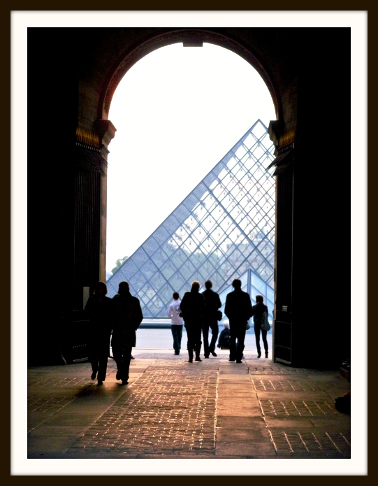 Entrance to the Pyramid - Louvre a