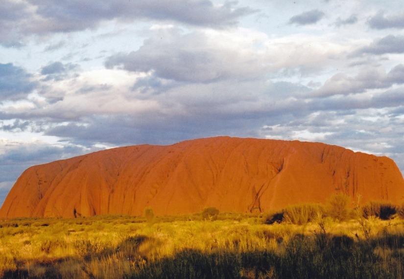 Journey to the red centre