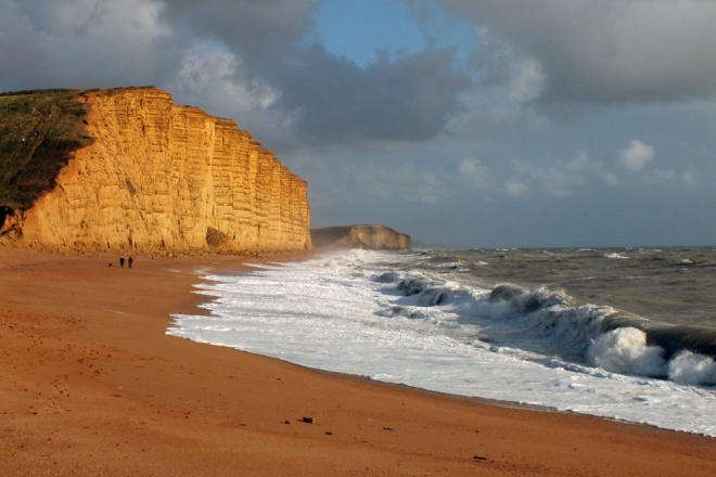 West Bay after the Storm