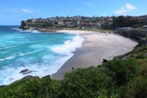View back to Bronte beach