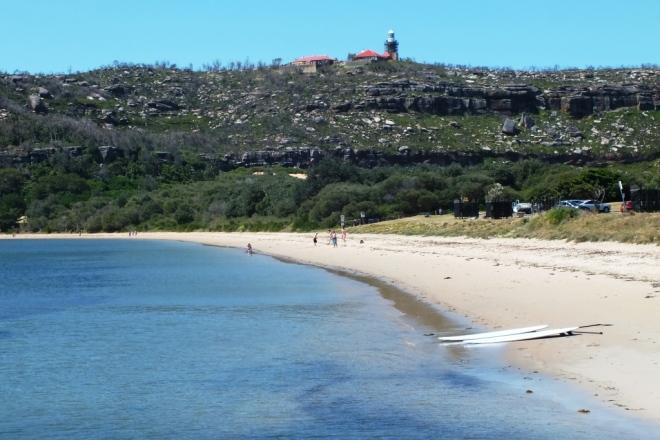 Barrenjoey beach