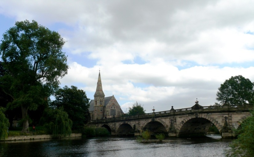 Scrobbesbyrig/Shrewsbury: A look at stone buildings