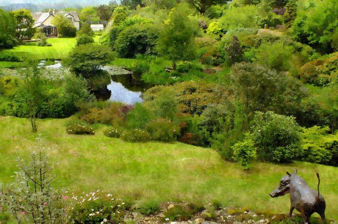 glenwhan garden silk