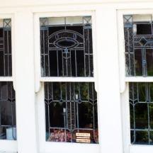 Exquisite leaded windows