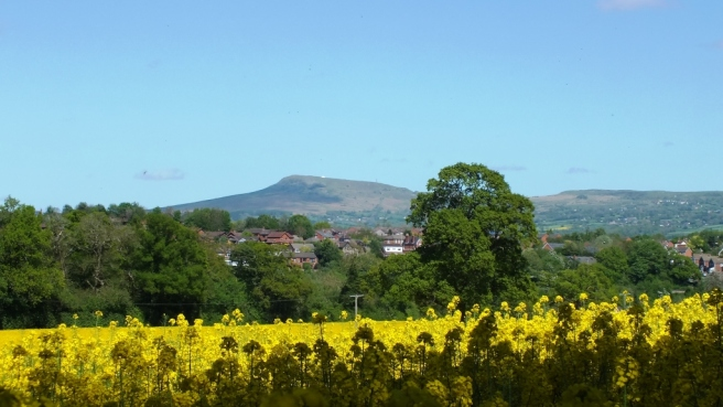 Titterstone Clee in the background