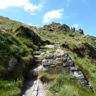 A bit steep
