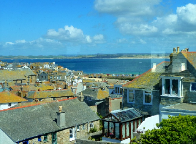 St Ives Harbour and Bay