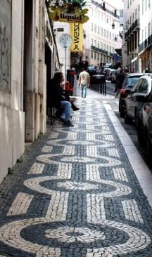 Pavement in Bairro Alto