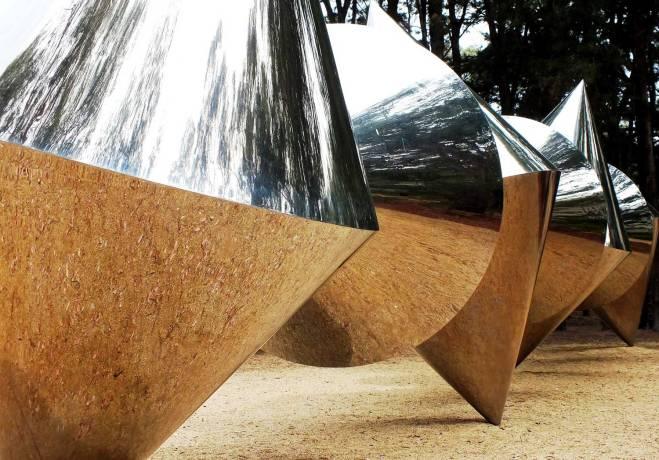 Cones by Bert Flugelman