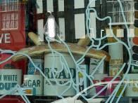 The Silver Pear Window Display