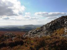 Flat top Corndon Hill