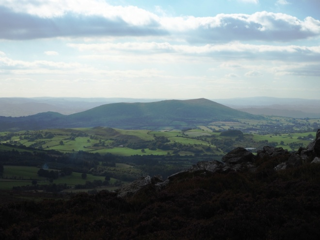 Corndon Hill to the south west