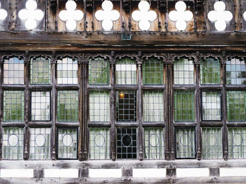 Windows at Wightwick