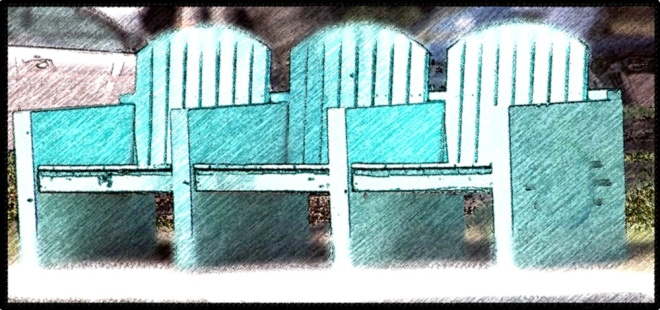 Miami aqua bench_FotoSketcher