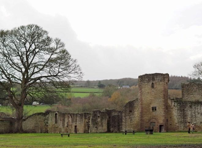 Ludlow Castle (inside)