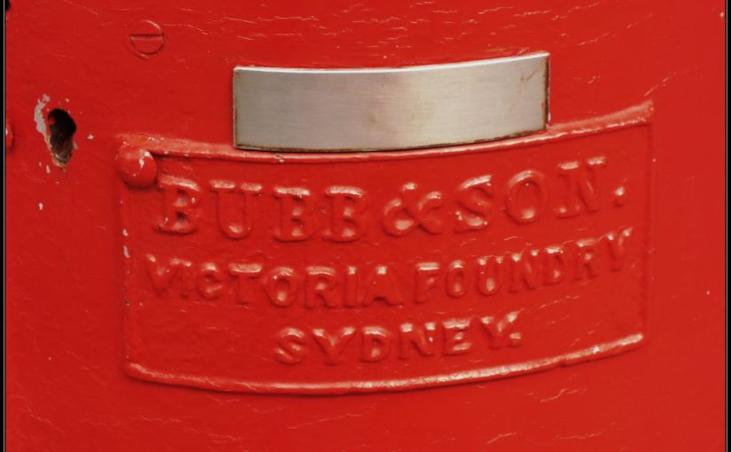 An Aussie Post Box