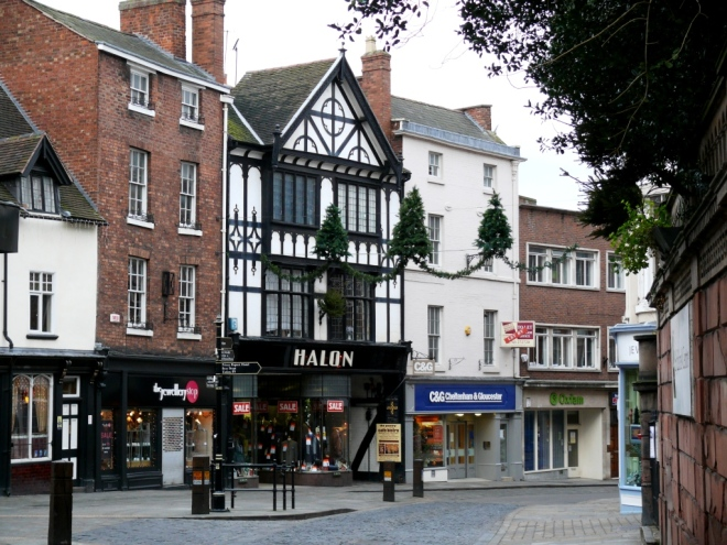 High Street - Wyle Cop