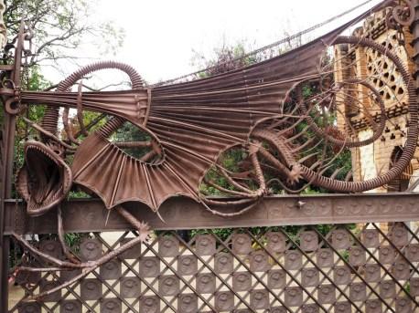 Gaudi's Dragon Gate