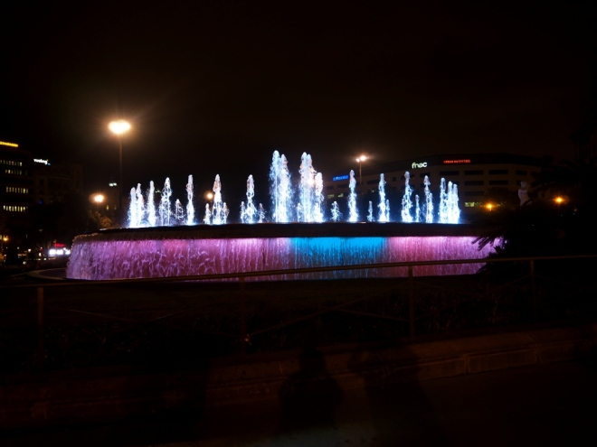 Fountain Placa de Catalunya