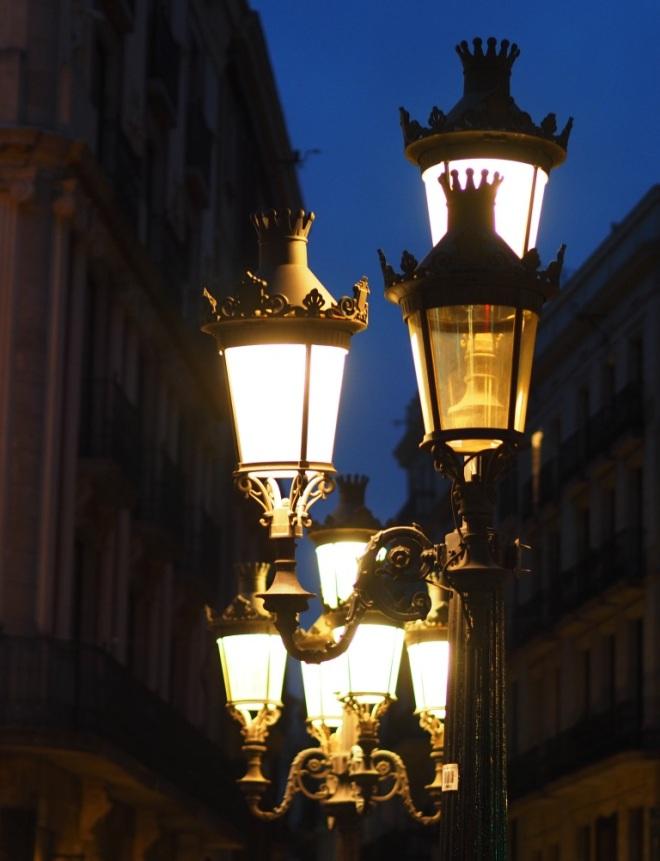 Street-lights (hand-held)