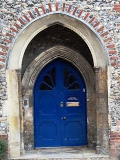 The Blue Door - Headmaster's office