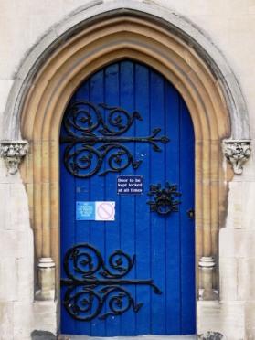 Wonderful door ironwork