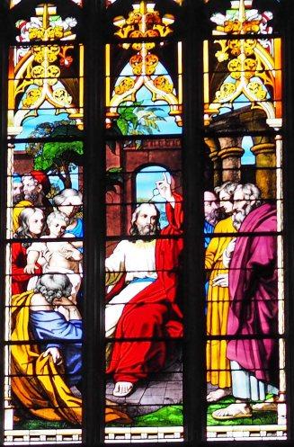 Story of Christ teaching