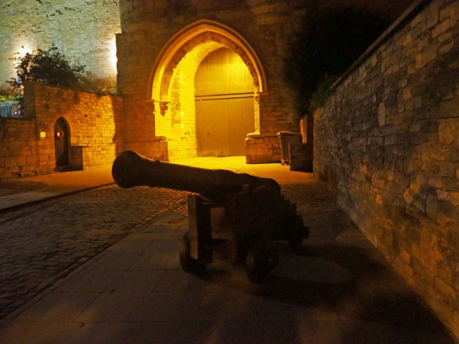 Castle Gate and Cannon