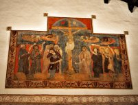 Crucifixion in the Abbey room