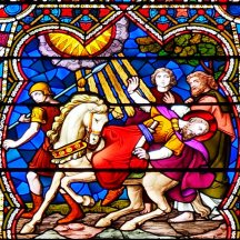 Scene from the Uppleby memorial window