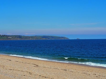 Slapton Sands - Daymark in the background