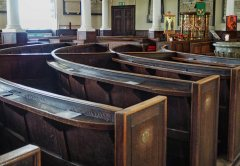 The Pews in the nave